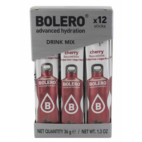 Bolero STICKS - Cherry (12 x 3g)
