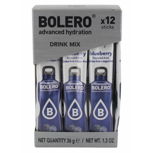 Bolero STICKS - Blueberry (12 x 3g)