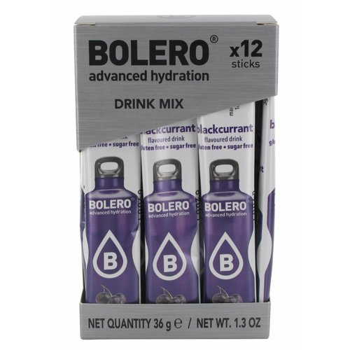 Bolero STICKS - Blackcurrant (12 x 3g)