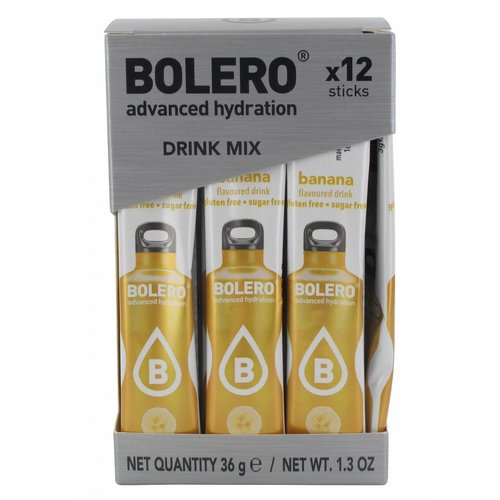 Bolero STICKS - Banana (12 x 3g)