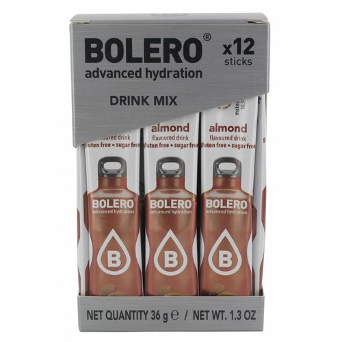 Bolero STICKS - Almond (12 x 3g)