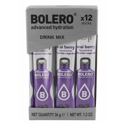 Bolero STICKS - Acai Berry (12 x 3g)