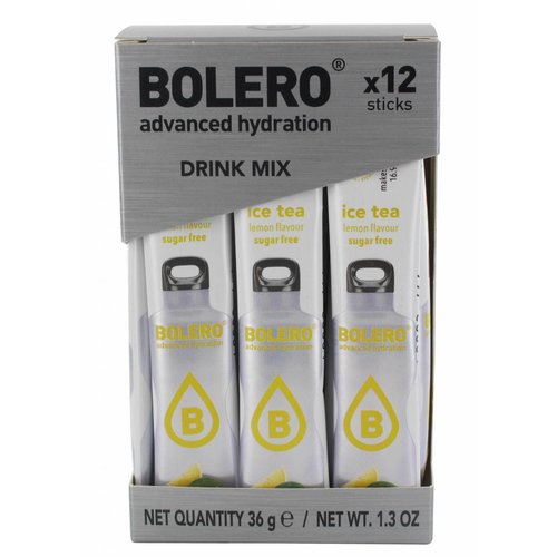 Bolero STICKS - ICE TEA Lemon (12 x 3g)