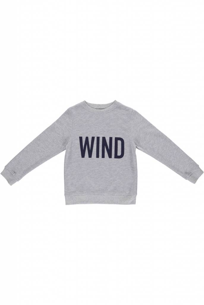 sweater - MADS Melange Grey