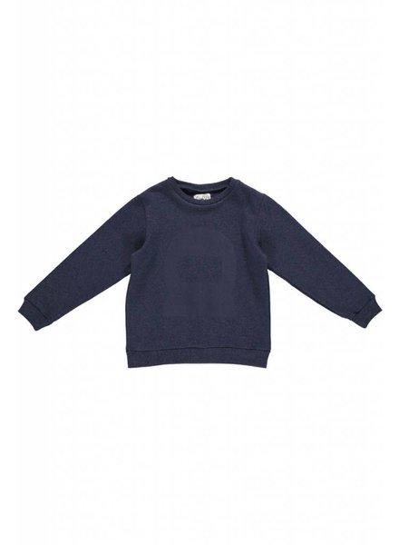 sweater - MADS Melange Mid Blue