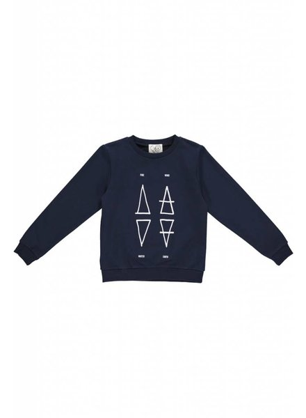sweater - MADS Classic Navy 4 Elements