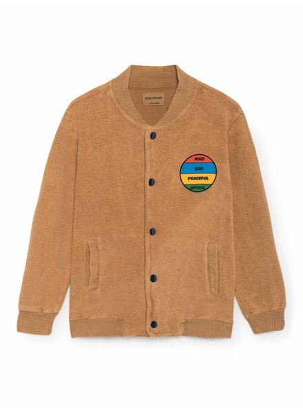 sweatshirt - colorful patch buttons