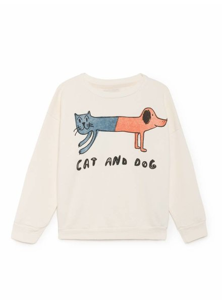 sweatshirt - cat and dog
