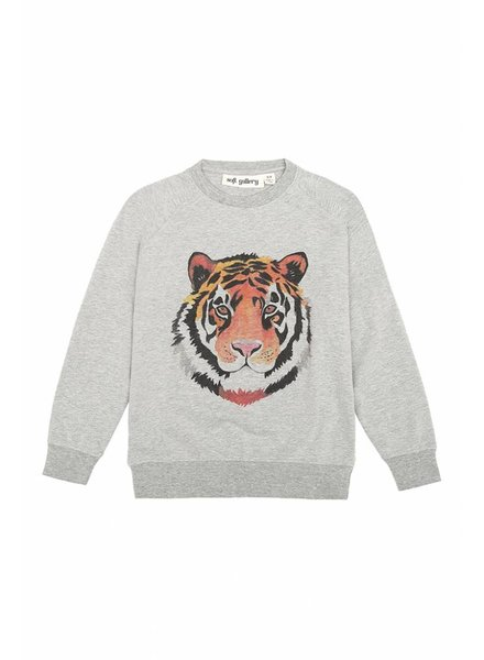 sweater CHAZ - grey melange Tigerart