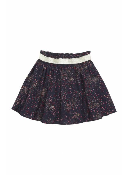 skirt MARIA - black iris sprinkle