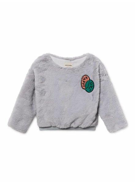 sweatshirt - happy sad faux