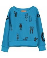 sweater - Bono sports blue