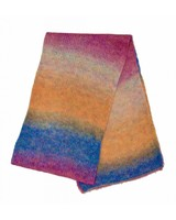 scarf - Icy Rainbow Pink