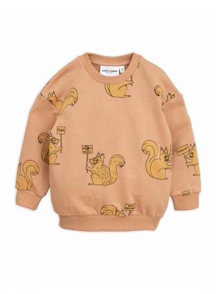 sweater Squirrel - beige
