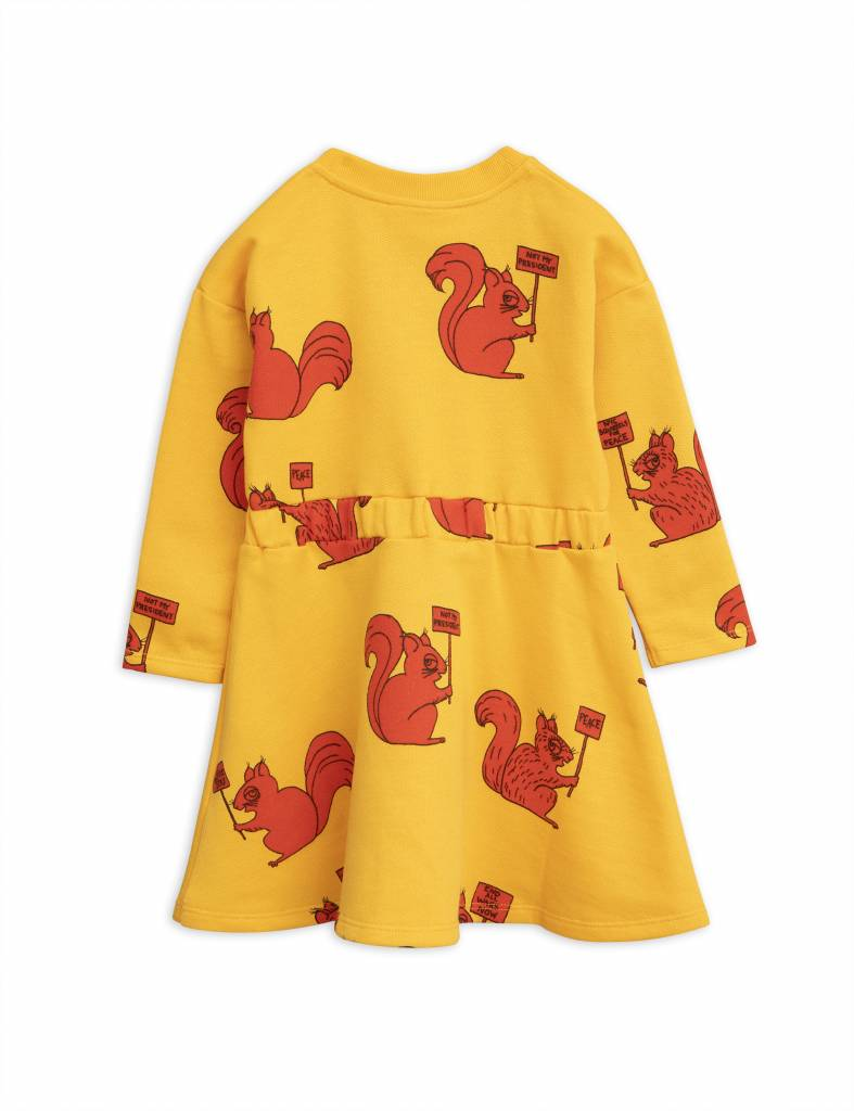 dress Squirrel - yellow