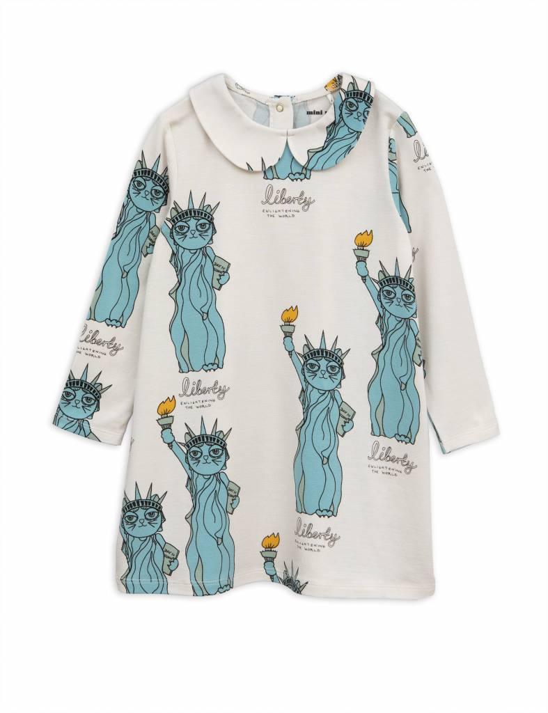 dress Liberty - light grey