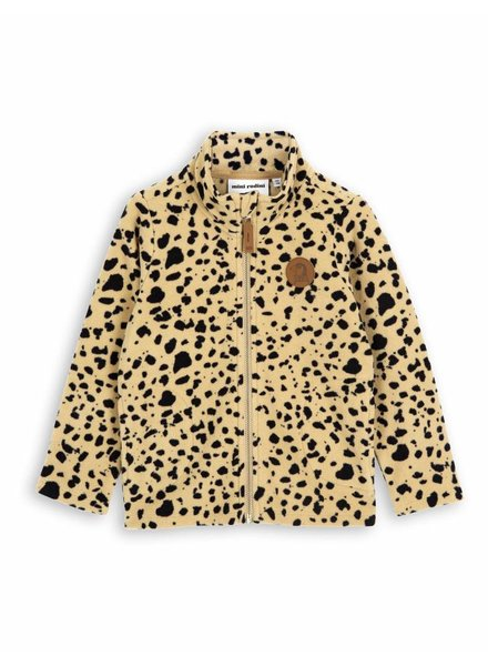 jacket Fleece Spot - beige