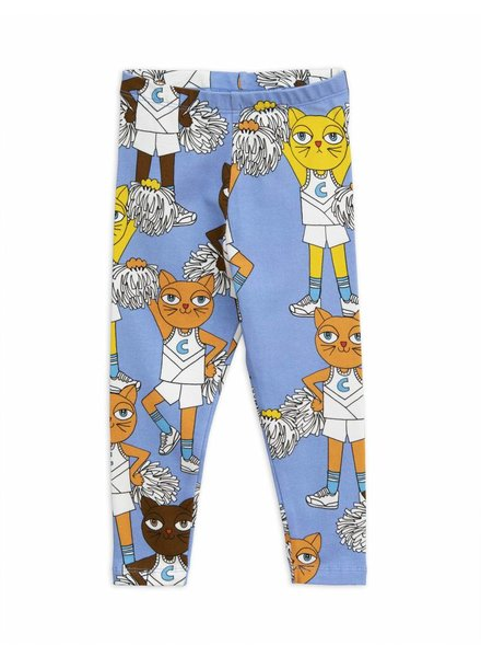 leggings Cheercats - blue