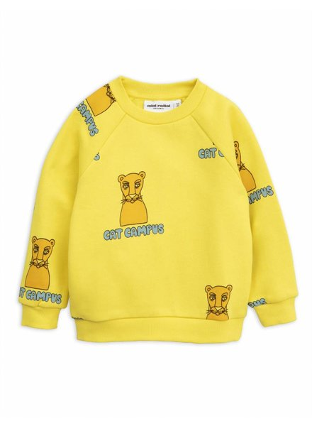 sweater Cat Campus - yellow