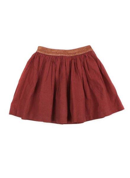 skirt ADELE - brick
