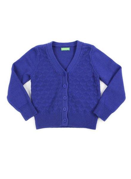 cardigan NETTE - royal blue