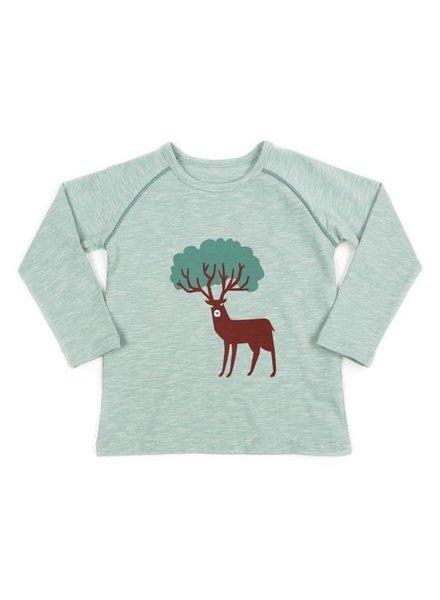 t-shirt BRUNO - sage green