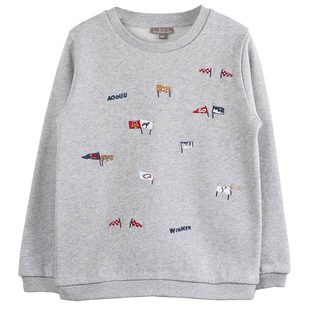sweater - Gris Chine