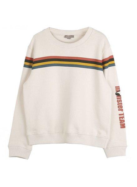 sweater Ecru  - Graphique