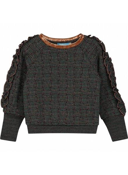 sweater - Zanthe green lurex