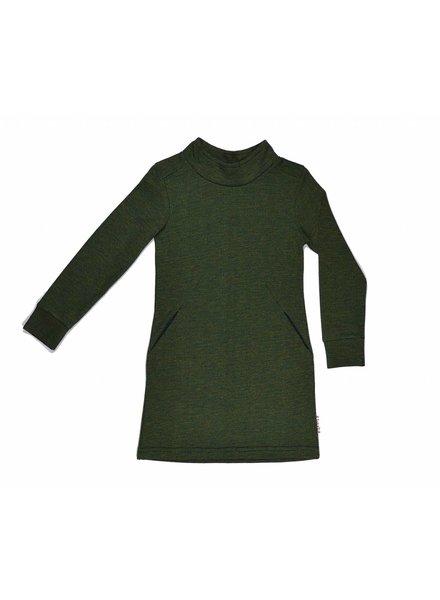 collar dress Tricolor