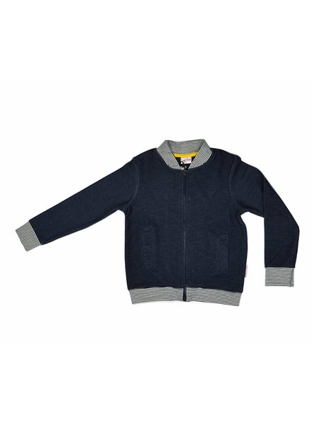bomber jacket Denim Blue