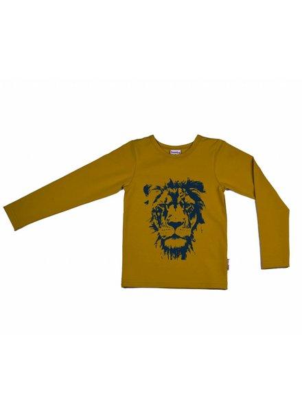 longsleeve Lion - yellow