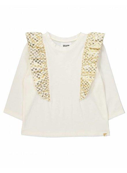t-shirt Yellow Brick Road - Blanc