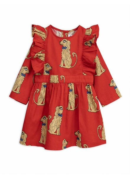 dress Spaniels - red
