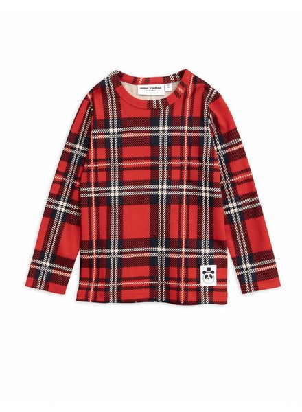 longsleeve Check - red