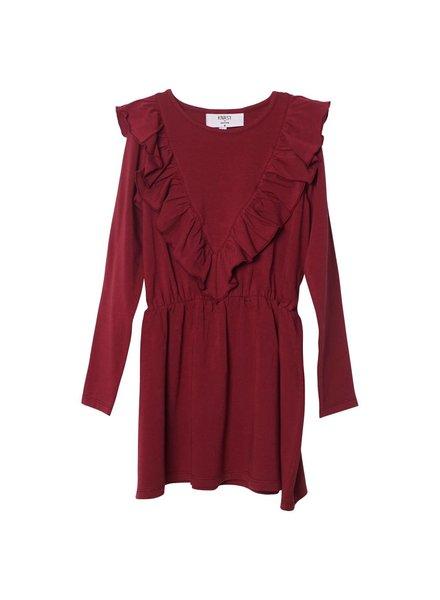 dress Agnes - bordeaux