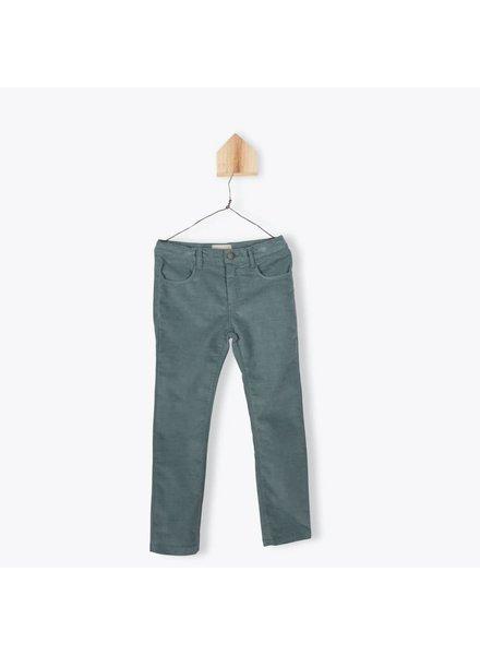 pantalon Velours Fin - sauge