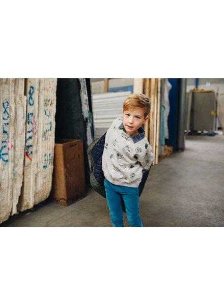 shirt boys - Benjamin Reto Bleu
