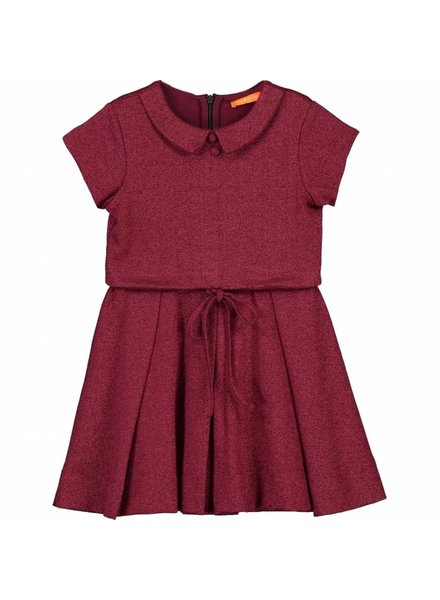 dress - NORMA red sparkle