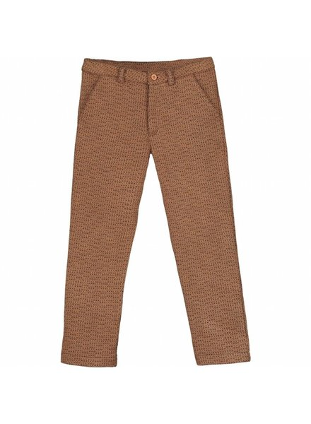 trousers - ASTOR moka