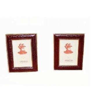 Luxurious Picture frame Bordeaux 16 x 12 cm