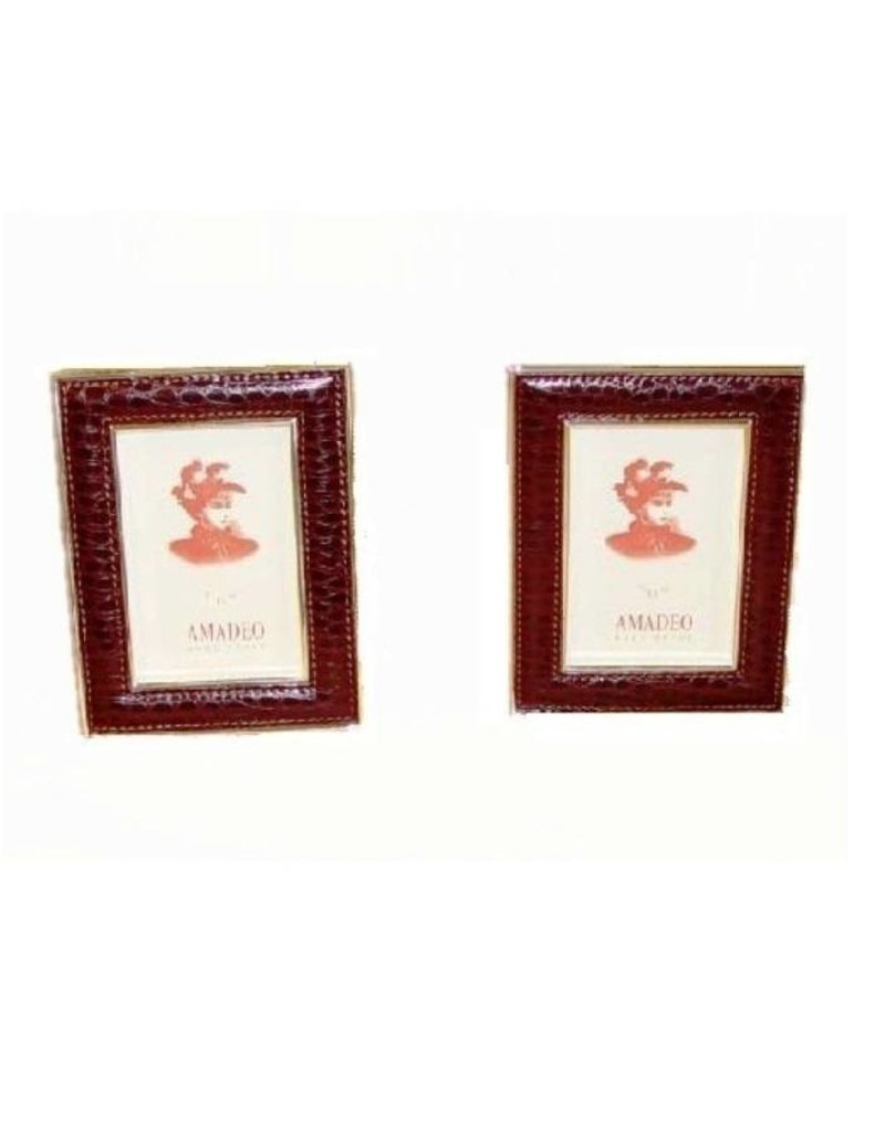 Luxurious Picture frame Bordeaux 16 x 12 cm