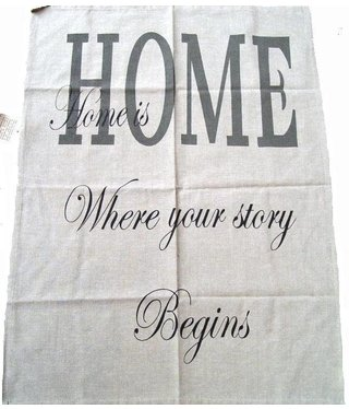 Tea towel HOME