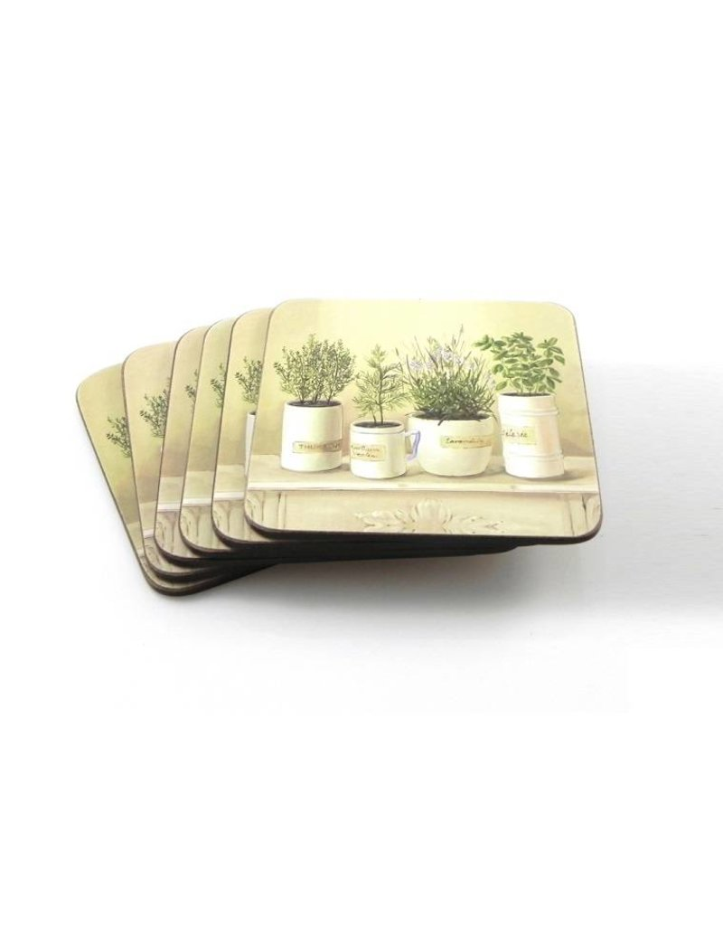 Coasters - Set of 6 pieces