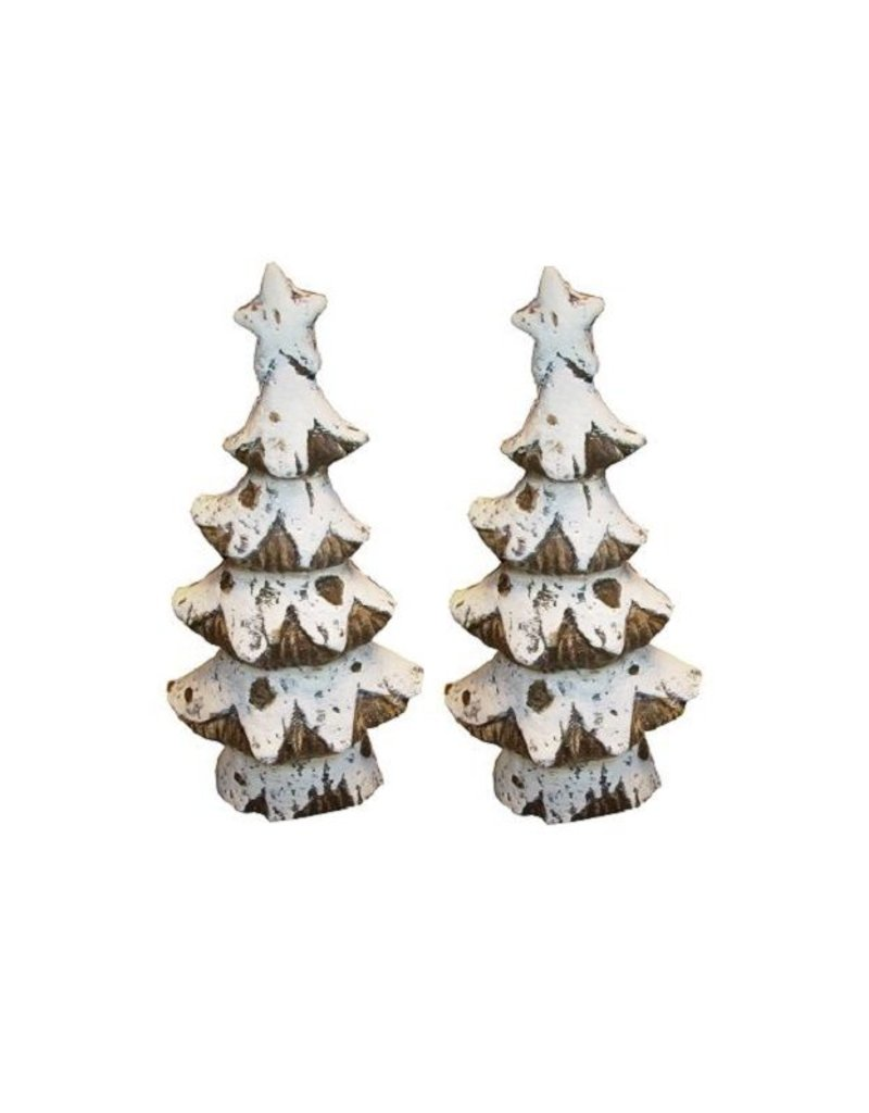 Statue Christmas tree of Guild Pottery - Set of 2 pieces