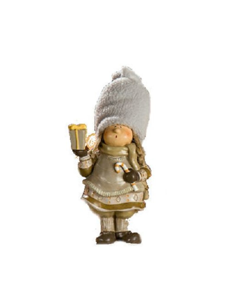 Ceramic Image Child Lapland with Gift Package