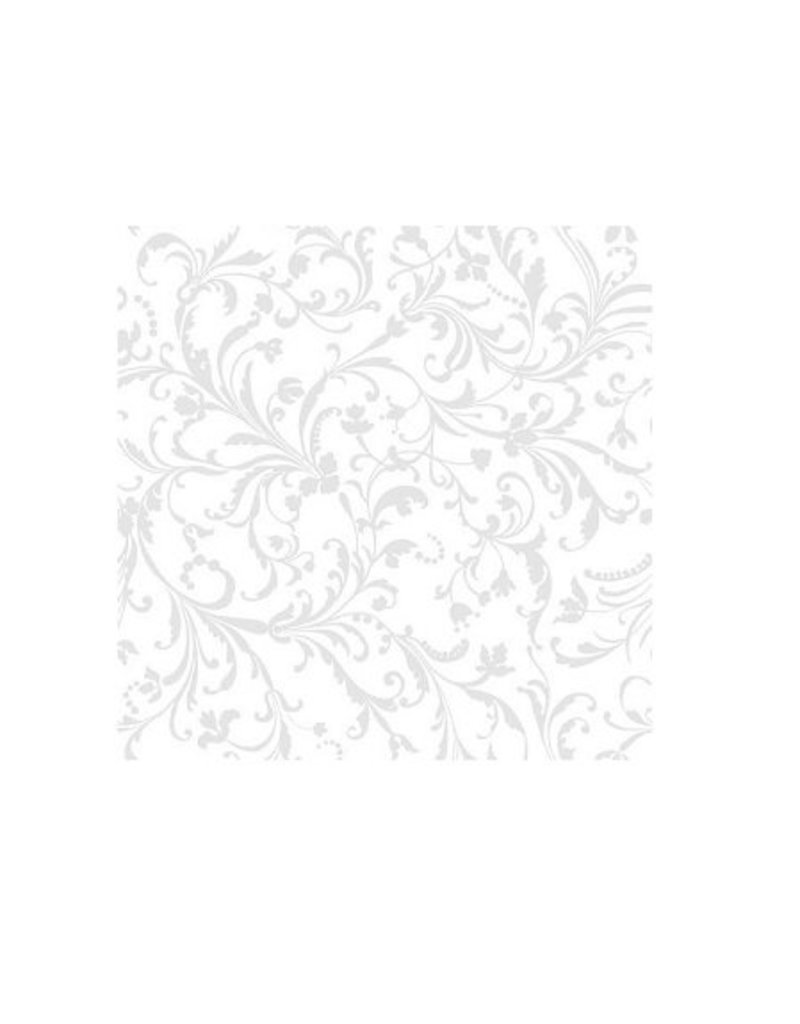 Napkins Damask White