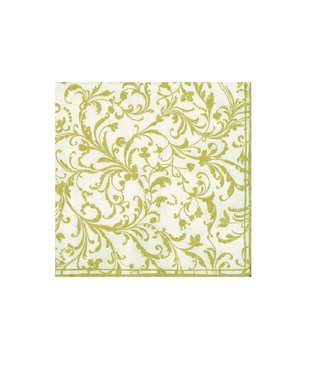 Napkins Damask Gold