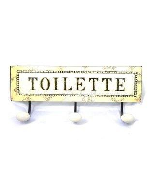 Wandhaak Tekst Toilette
