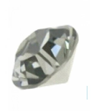 1028 Swarovski Puntstenen SS29 - Black Diamond